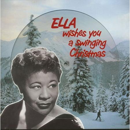 Ella Fitzgerald - Ella Wishes You A Swinging Christmas - Vinyl ()