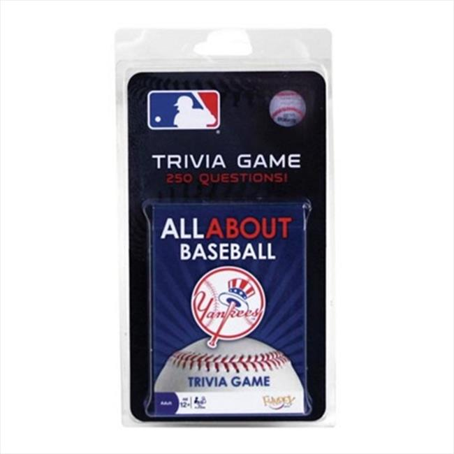 Riviera All About Trivia Card Game - MLB New York Yankees