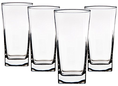 Palais Glassware Carre Collection; High Quality Glassware Set Square Shaped by Palais Glassware