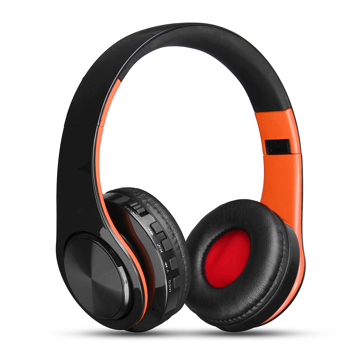 Portable Wireless Hifi Stereo Foldable bluetooth Headphone Sports Handsfree Headset Mic SD AUX
