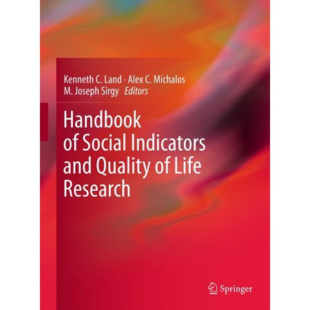- Handbook of Social Indicators and Quality of Life Research - eBook