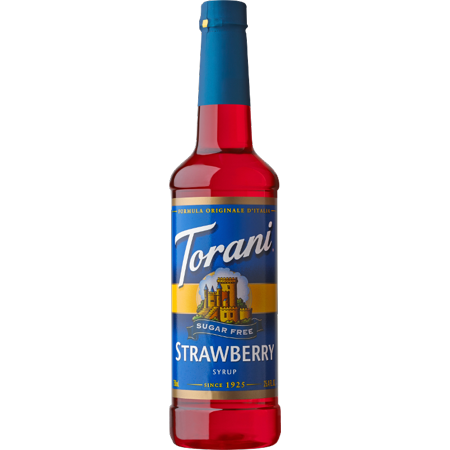 Torani Sugar Free Strawberry Syrup 750ml