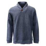 Tasso Elba NEW Blue Mens Size Large L Solid Shawl-Collar Pullover Sweater $50