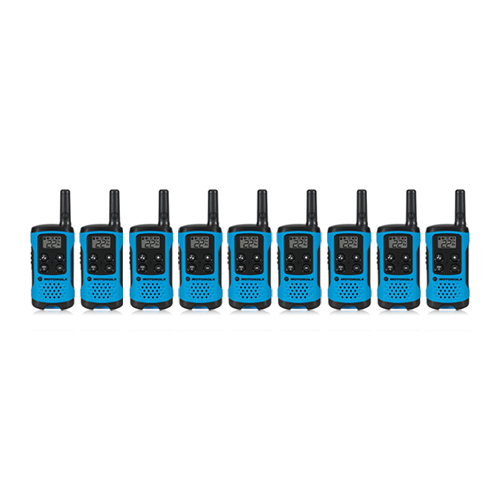 """Motorola T100TP (9 Pack) Walkie Talkies"""