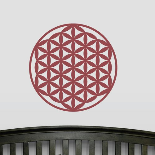 Wallums Wall Decor Flower of Life Wall Decal