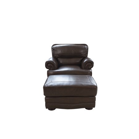 Elements Leather Toast Including Standard Chairs Standard Ottomans Image