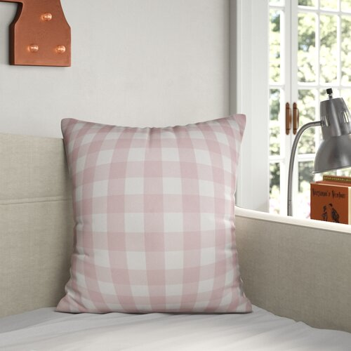 Grovelane Teen Amabel Buffalo Check Throw Pillow