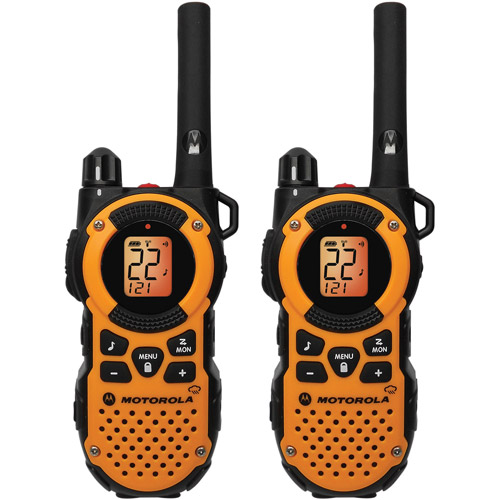 Motorola MT350R - 35 Mile Range Talkabout 2-Way Radios, PAIR