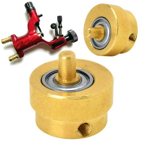 1Pcs Rotary Tattoo Machine Gun Bearing Brass Liner Cam Wheel Replacement 15x14mm - ON SALE Auto Machine Gun