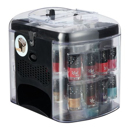 ($40 Value) The Color Workshop Manicure Gift Set with Nail Polish and Dryer, 30 Pcs (Nail Polish Colors Set)