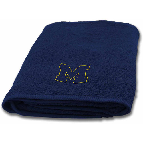 NCAA Michigan Applique Bath Towel, 1 Each