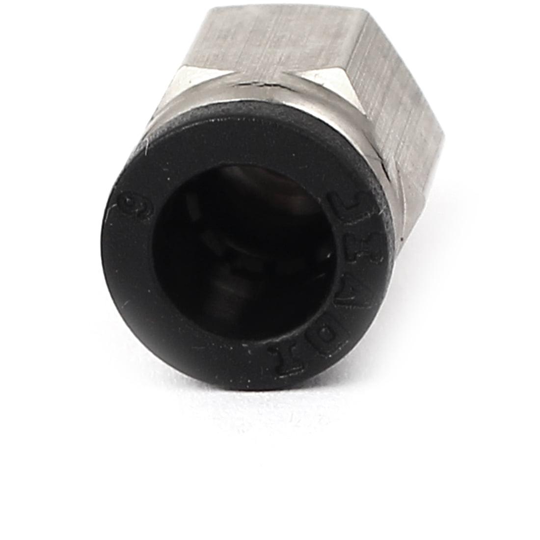 6mm pour M5 à pousser Pneumatique Air Raccord Rapide Pose Du Tube Coupler 10 pièces - image 1 de 2