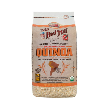Bobs Red Mill Whole Grain White Quinoa  16 Oz