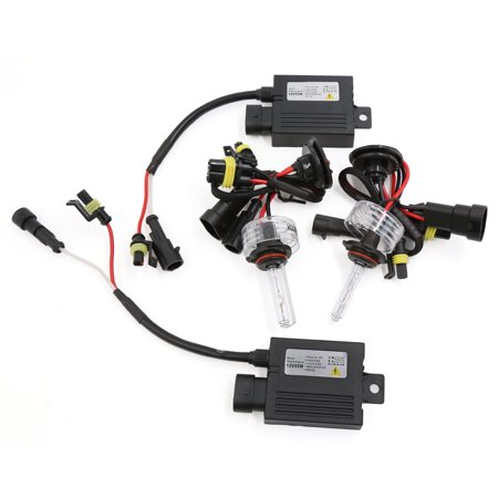 Car 12V 55W 9006 Single Beam HID Xenon Light Bulb Headlight Conversion Kit 6000K