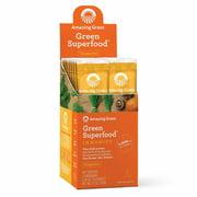 Amazing Grass Immunity Green Superfood Powder, Tangerine, 15 Packets