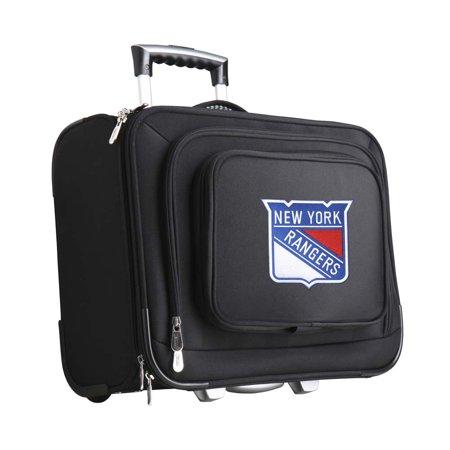 - Denco NHL Wheeled Laptop Overnighter, New York Rangers