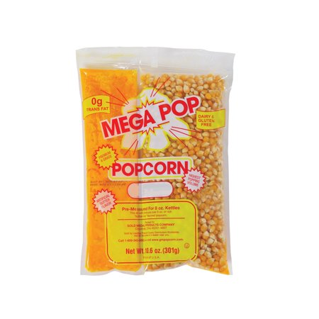 Branded Gold Medal Mega Pop Popcorn Kit (8 oz., 24 ct.) Pack of 1 [Qty Discount / wholesale price]](Mega Mart Omaha)