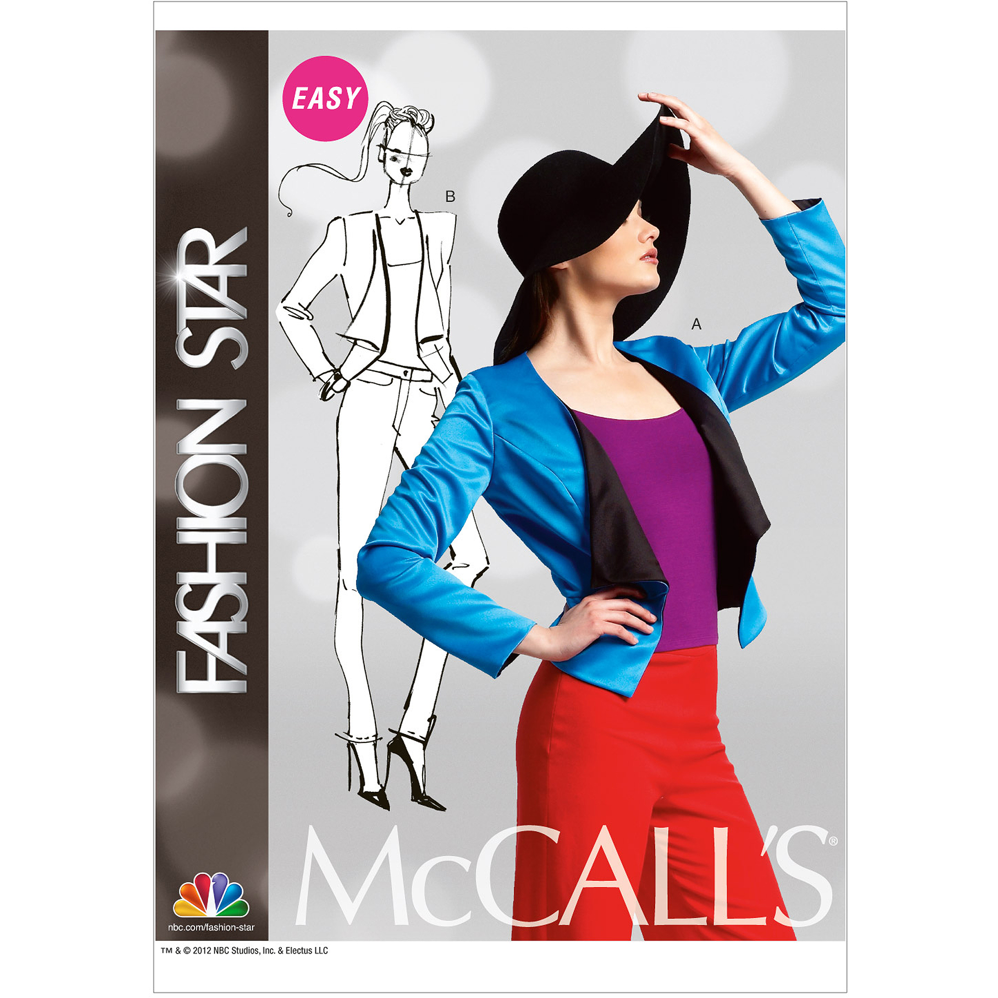 McCall's Pattern Misses' Lined Jackets, E5 (4, 16, 18, 20, 22)