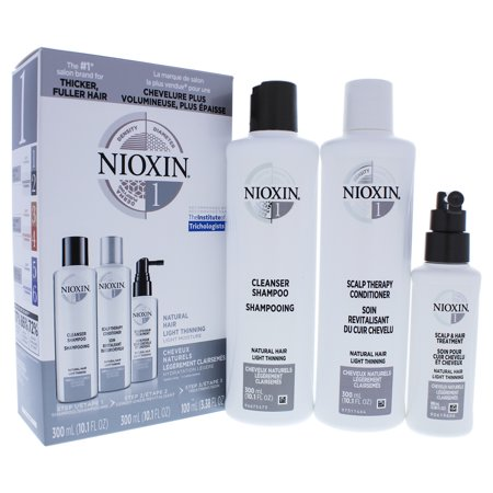 Nioxin System 1 Natural Hair Light Thinning Kit