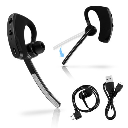 universal bluetooth 4 0 stereo wireless business work headset handfree earphone for iphone. Black Bedroom Furniture Sets. Home Design Ideas