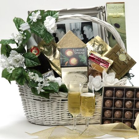 Best Wishes To You Wedding Gourmet Food Gift Basket, LARGE (Chocolate Option) - Walmart.com