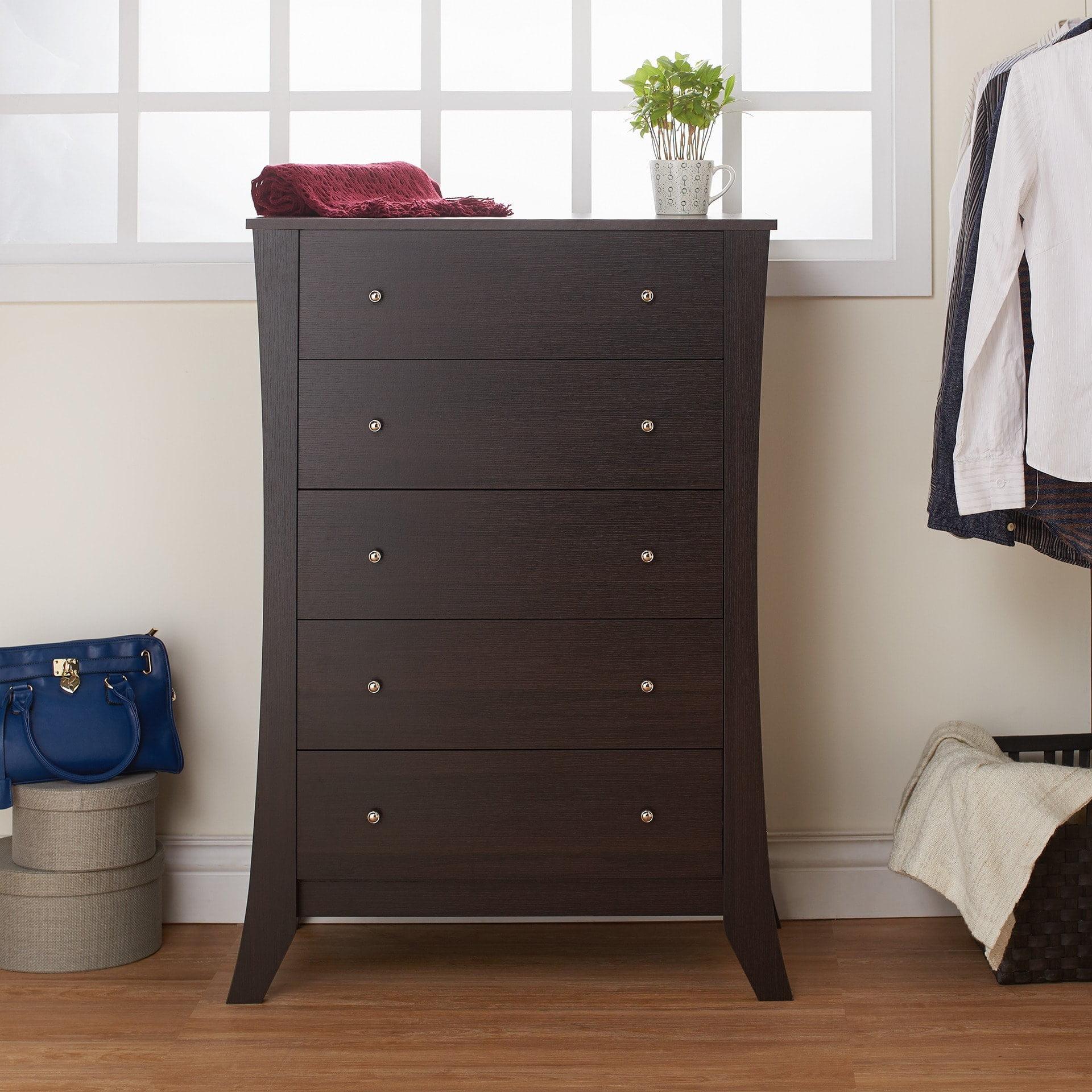 Furniture of America  Hamilton Espresso 5-drawer Chest
