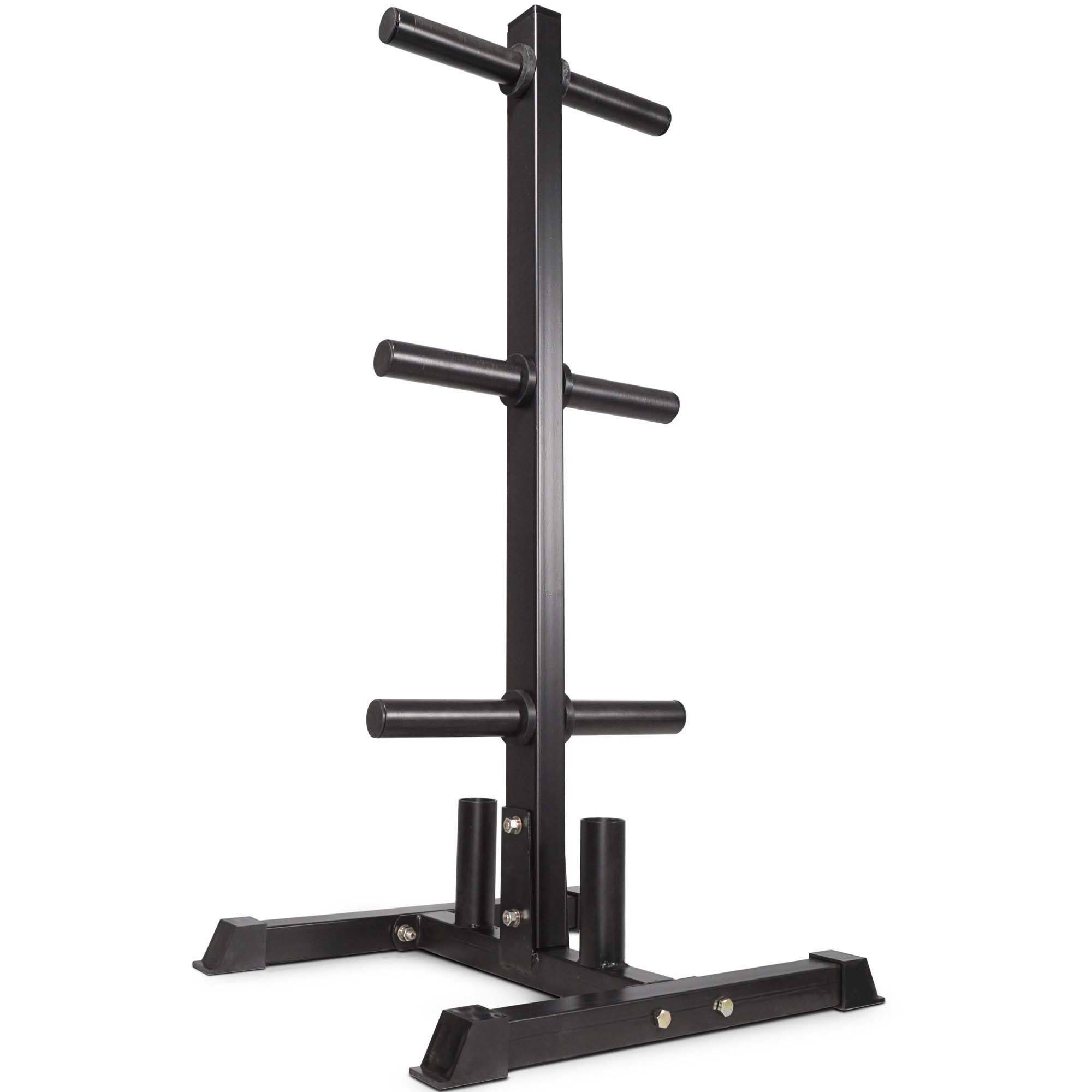 "Titan Fitness Olympic 2"" Weight Plate Rack, Tree & Barbell Holder Organizer Stand by Titan Fitness"