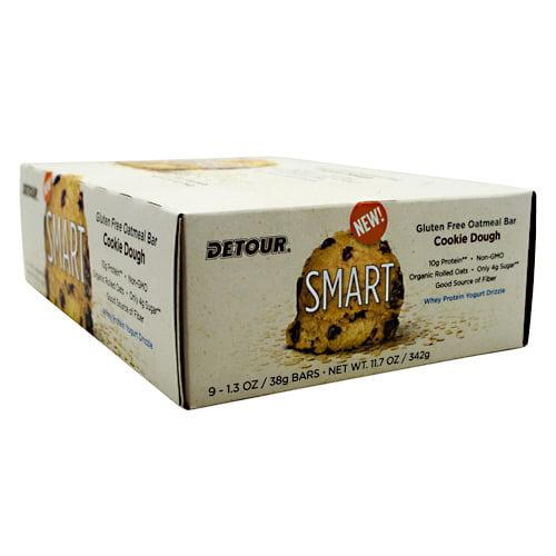 Detour Smart Bar Cookie Dough 9 1.3 oz   38g Bars by