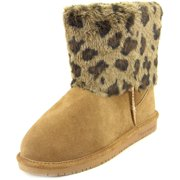 Bearpaw Keely   Round Toe Suede  Winter Boot