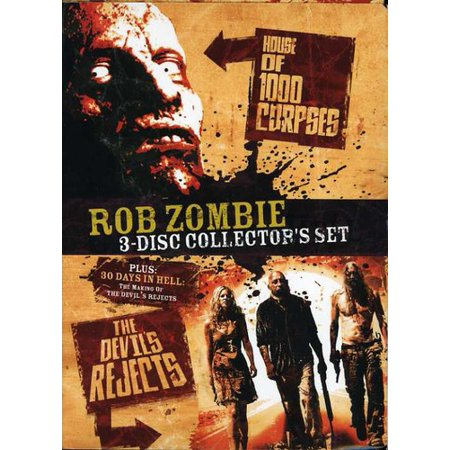 Rob Zombie Collector's Set (DVD) (Halloween Rob Zombie Movie Soundtrack)