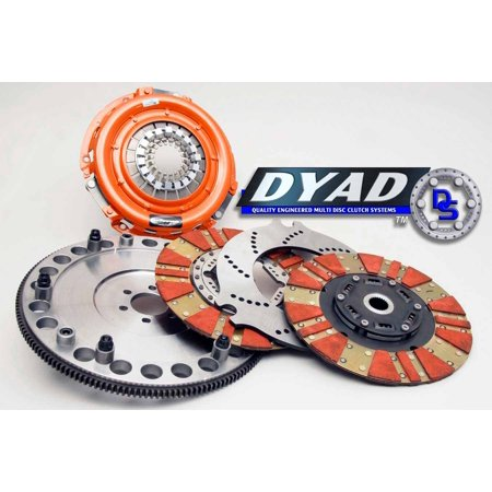 CENTERFORCE DYAD Twin Disc Clutch Kit GM 97-11 LS Cars (Twin Disc)
