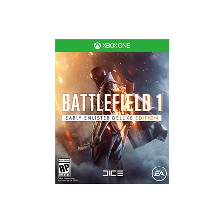 Battlefield 1 Deluxe Edition, Electronic Arts, Xbox One, 014633371215