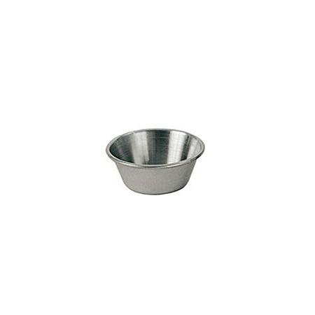 Update International SC-15 1.5 Oz. Stainless Steel Sauce Cup - - Update International Update Marquis