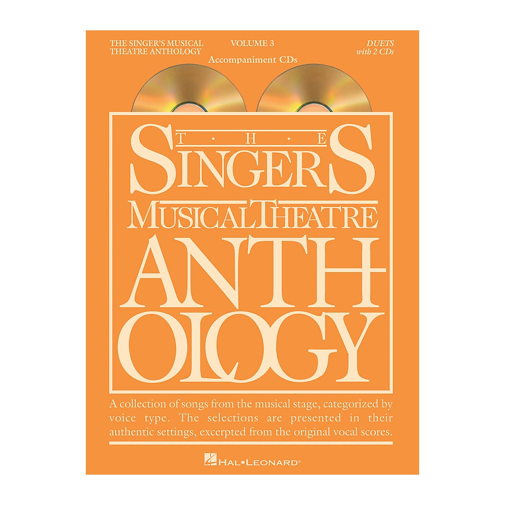 Hal Leonard Singer's Musical Theatre Anthology Duets Volume 3 Accompaniment CDs