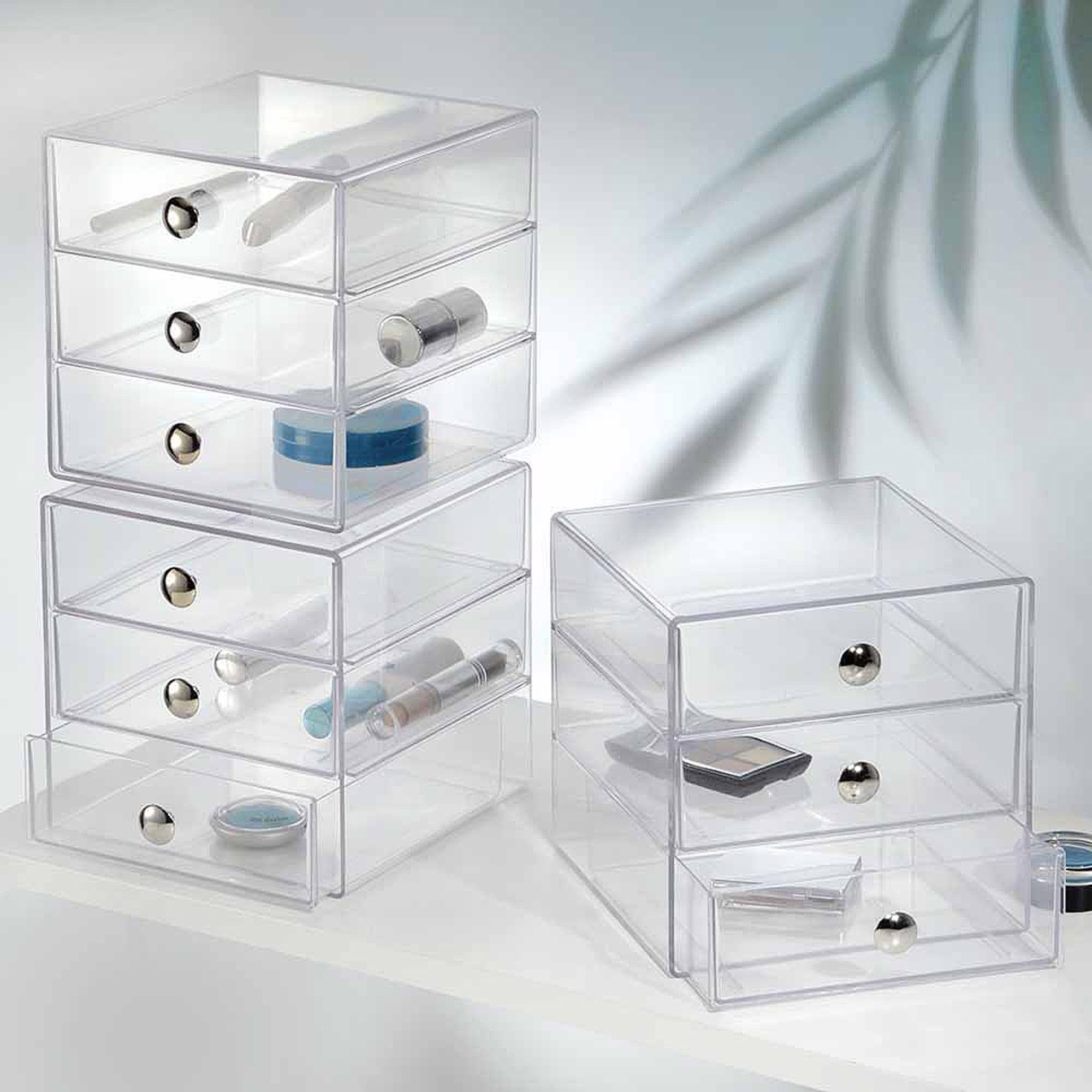 makeup storage show sizes adjustable font drawer organizer m
