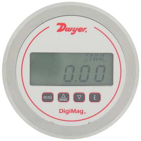 Dwyer Instruments Digital Low Pressure Gauge, DM-1209