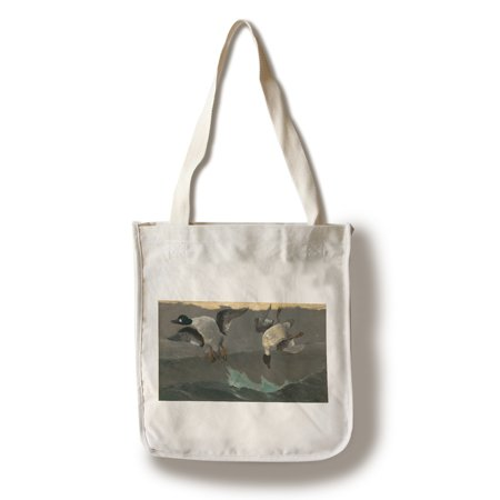 Right and Left - Masterpiece Classic - Artist: Winslow Homer c. 1909 (100% Cotton Tote Bag - Reusable)