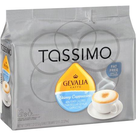 043000027585 UPC - Gevalia 2758 Skinny Cappuccino T Disc For Tassimo UPC Lookup