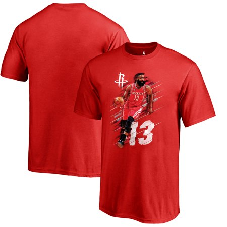 promo code 4cae5 a7686 James Harden Houston Rockets Fanatics Branded Youth Fade Away T-Shirt - Red