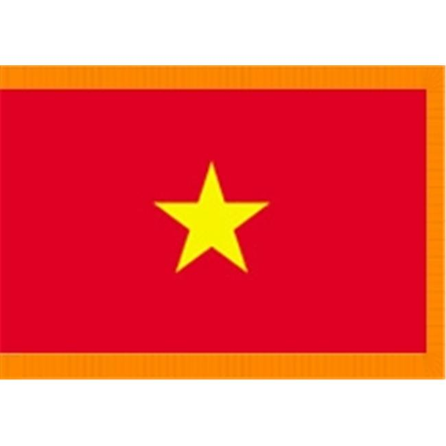 Annin Flagmakers 190428 3 ft. x 5 ft. Indoor and Parade Colonial Nyl-Glo Vietnam...