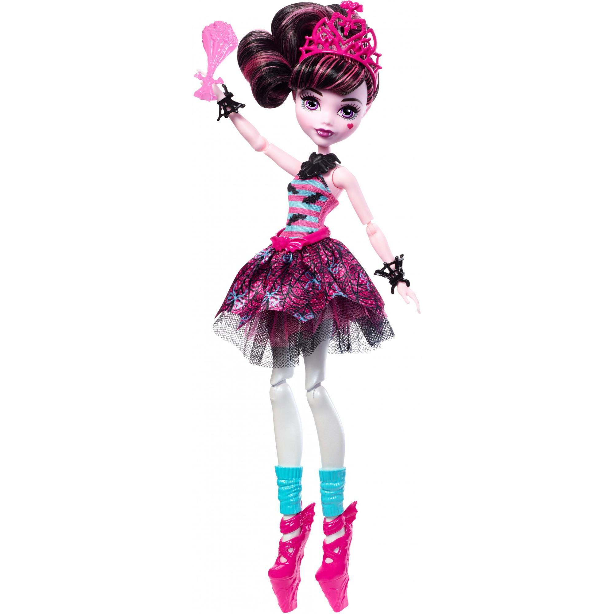 Monster High Ballerina Ghouls Draculaura Doll by Mattel