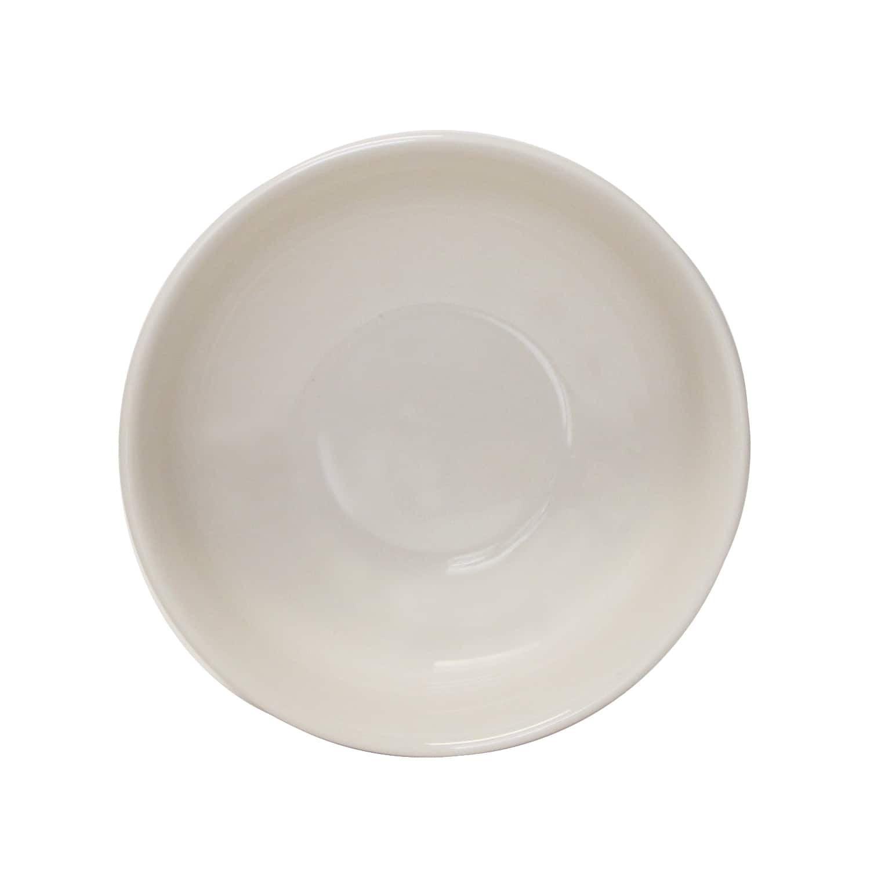 Tuxton Home Duratux Menudo Pasta Bowl 35oz, 58oz Nevada American White (Eggshell) Set of 2 by Overstock