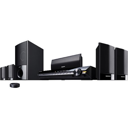 Sony BRAVIA DAV-HDX285 5.1-Channel Theater System (Black) (Discontinued by Manufacturer)
