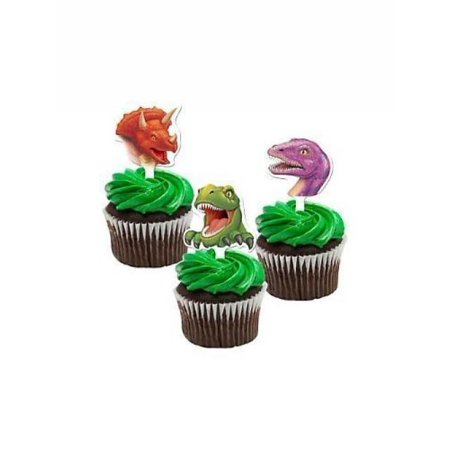 Dinosaur Cupcake Toppers Package of 12