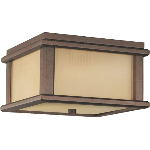 Murray Feiss OL3413 Craftsman / Mission 2 Light Outdoor Ceiling Fixture from the