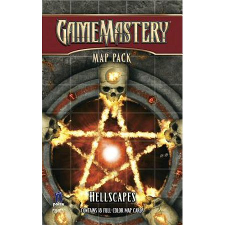 Gamemastery Map Pack: Hellscapes (Gamemastery Flip Map)