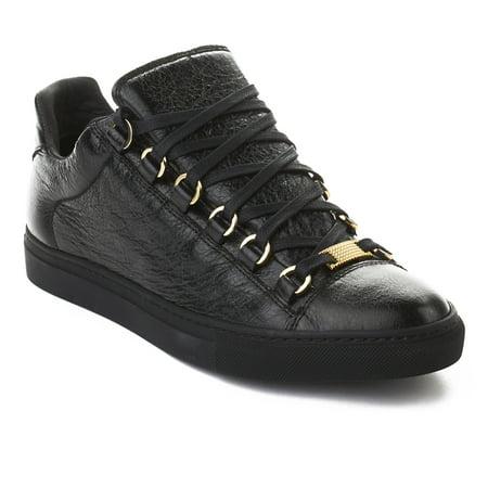 Balenciaga - Balenciaga Women s Arena Leather Sneaker Shoes Black -  Walmart.com a2cd09946f