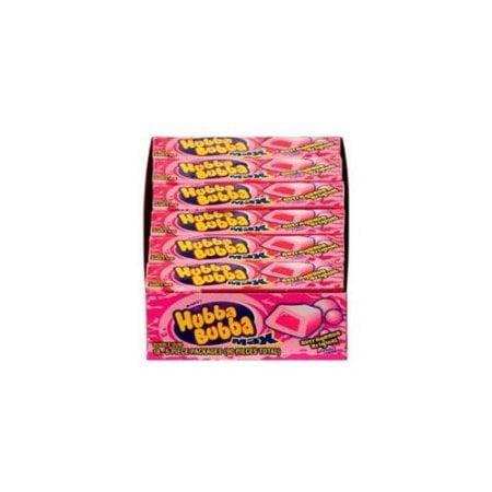 Hubba Bubba Max Bubble Gum, Original, 5-Piece Packs