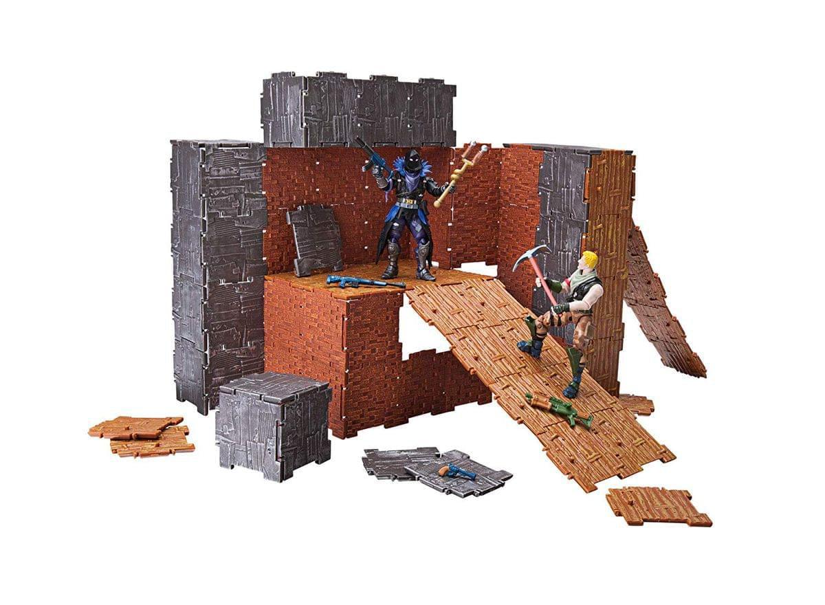 Fortnite Turbo Builder Set Action Figure Playset, Jonesy & Raven