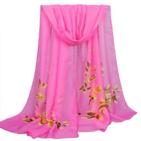 Fashion Women Long Soft Wrap scarf Ladies Shawl Chiffon Scarf Scarves HOT